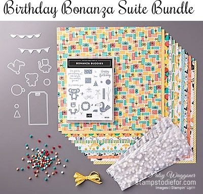 Birthday Bonanza Suite of Products by Stampin Up