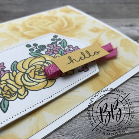 Card Cased page 44 Bloom and Grow Stamp Set by Stampin' Up!