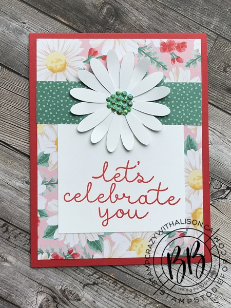 SS018 Flowers for Everyseason paper and Daisy Punch Card a