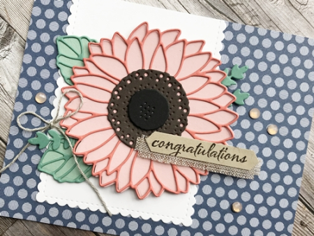 Just in CASE pg 13 Annual Stampin' Up! catalog using the Sunflower Dies1