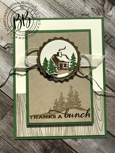 Sunday Sketches card sketches by Border Buddy's Alison Solven and Patsy Waggoner featuring the Snow Front Stamp Set by Stampin' Up! 5