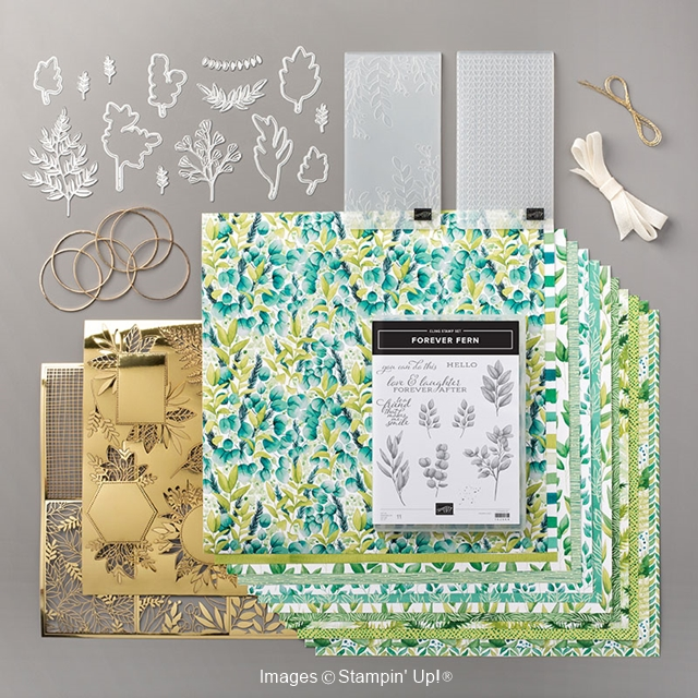Forever Greenery Suite of products by Stampin' Up!