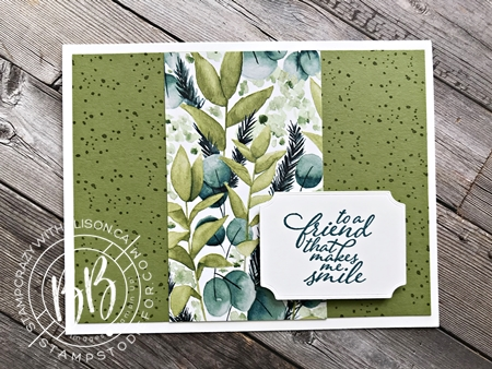 Greenery Forever Suite Step It Up Card 2
