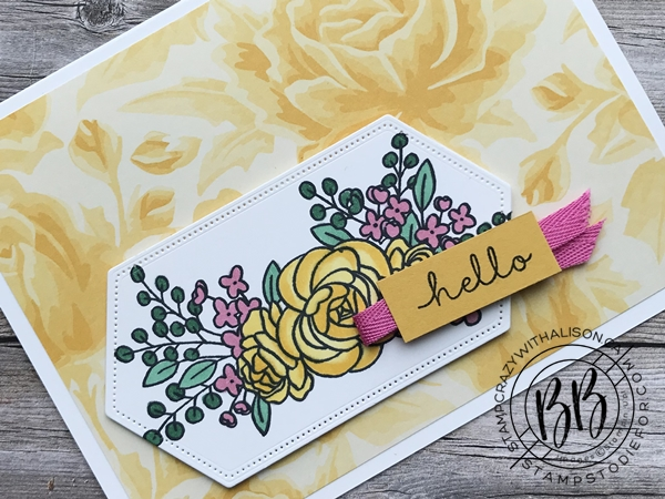Card Cased page 44 Bloom and Grow Stamp Set by Stampin' Up! slanted