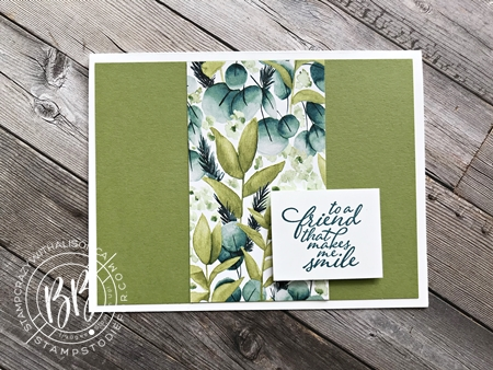 Greenery Forever Suite Step It Up Card 1