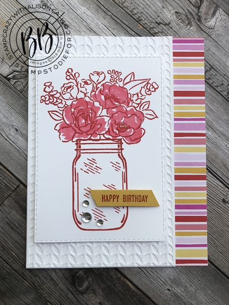 Step Up Cards Jar of Flowers stamp set by Stampin' Up! 2