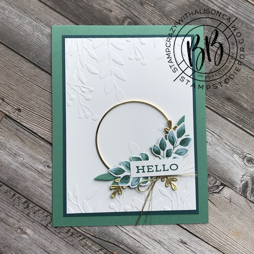 Forever Greenery Suite of products by Stampin' Up!® 2