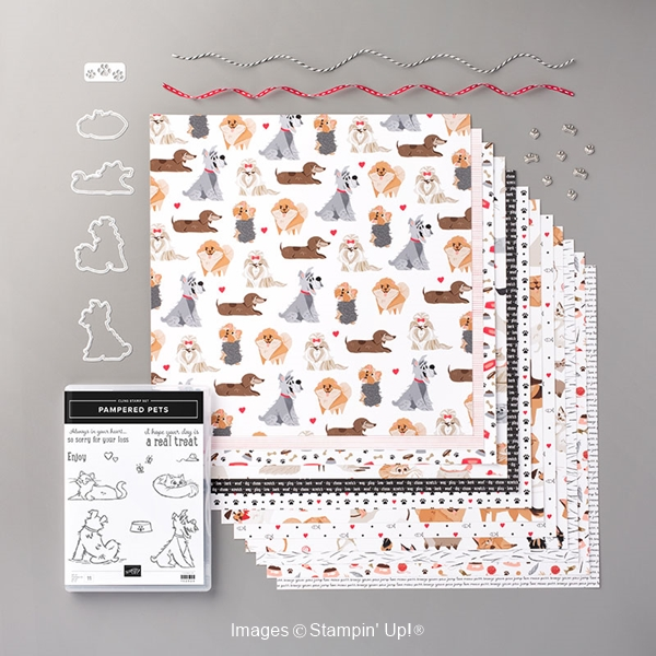 Cat Lovers and Dog Lovers - Pampered Pets Stamp Set from the Playful Pets Suite of products by Stampin' Up!® suite