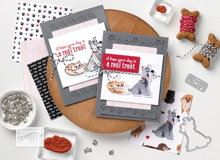 Pampered Pets Stamp Set from the Playful Pets Suite of products by Stampin' Up!®