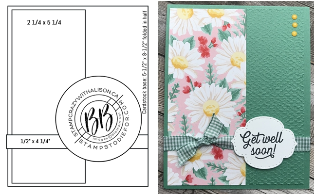 SS011 Many Mates Stamp Set by Stampin' Up! side by side