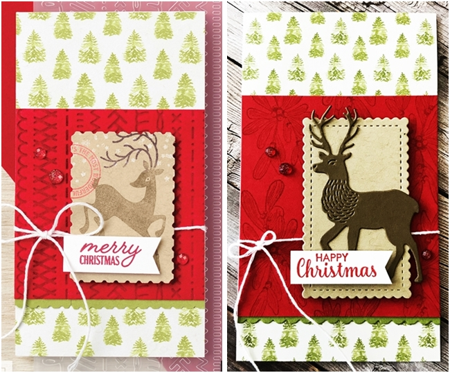 Just in CASE card page 63 Mini Catalog card used WIshes and Wonder by Stampin' Up!  5
