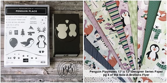 Border Buddy PDF Tutorial featuring the Penguin Place stamp set and Penguin Builder Punch by Stampin' Up! (5)-horz