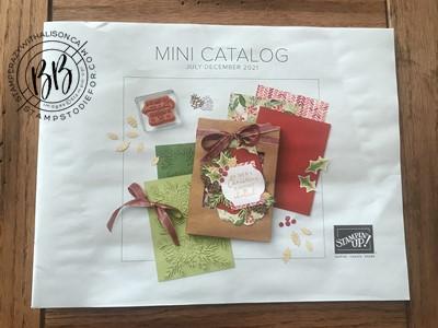 July-December 2021 Mini Catalog Stampin' Up!