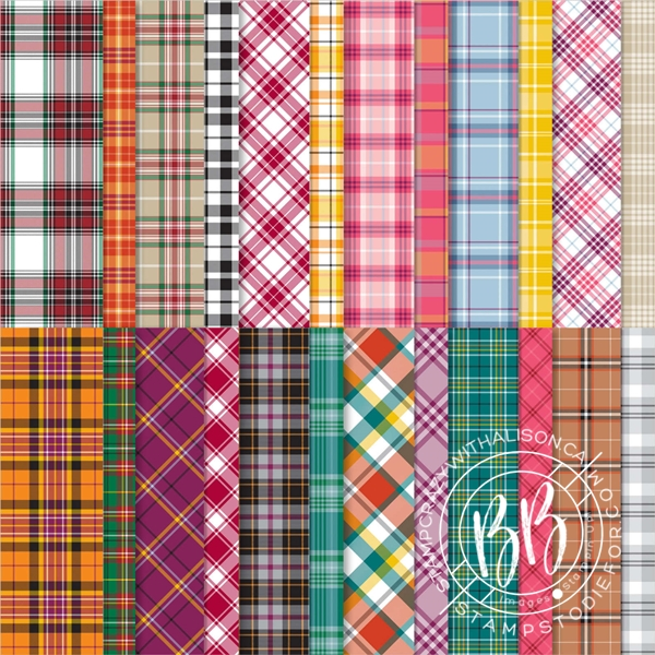 Plaid tidings paper pack by Stampin' Up!