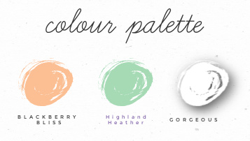 Sunday Sketches Color Palette Stampin' Up!