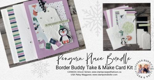 August Take & Make Kit Penguin Place Bundle